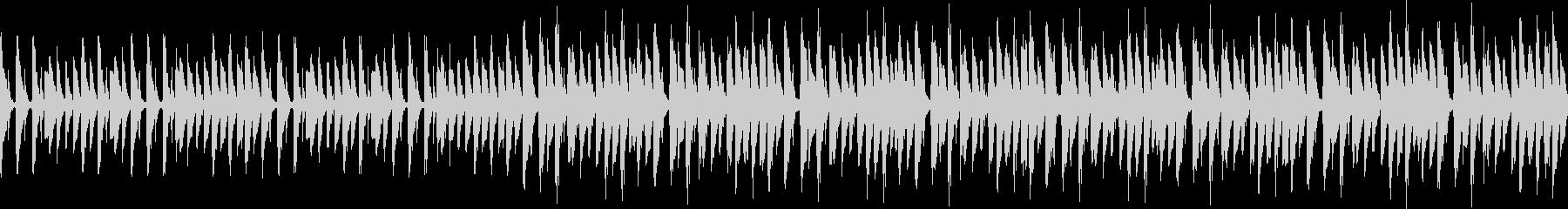 シンプルなテクノ風ループの未再生の波形