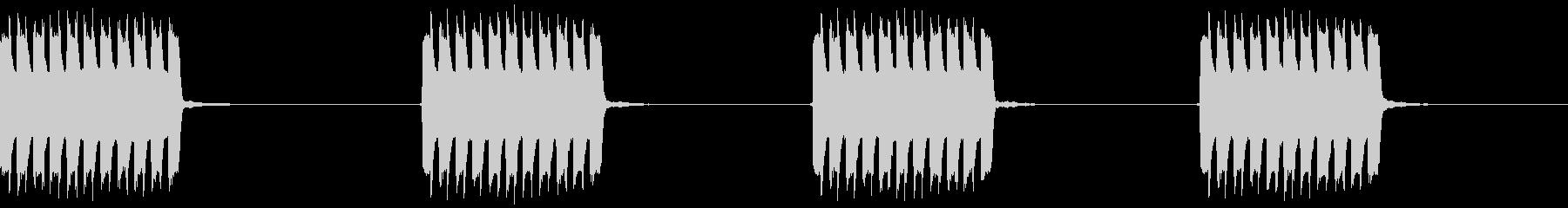 電話の着信音の未再生の波形