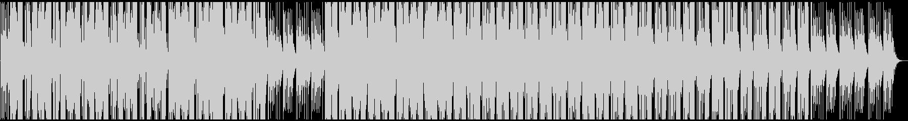 和風お琴の音 シンセ系のリズムを取り入れの未再生の波形