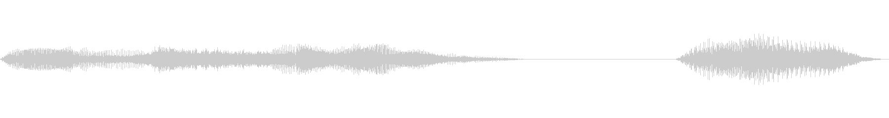 アナログミュージカルアクセント、フ...の未再生の波形