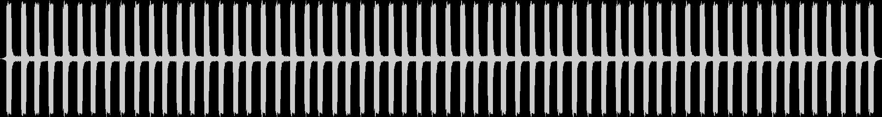 心臓モニター:電子音:高速、病院、...の未再生の波形