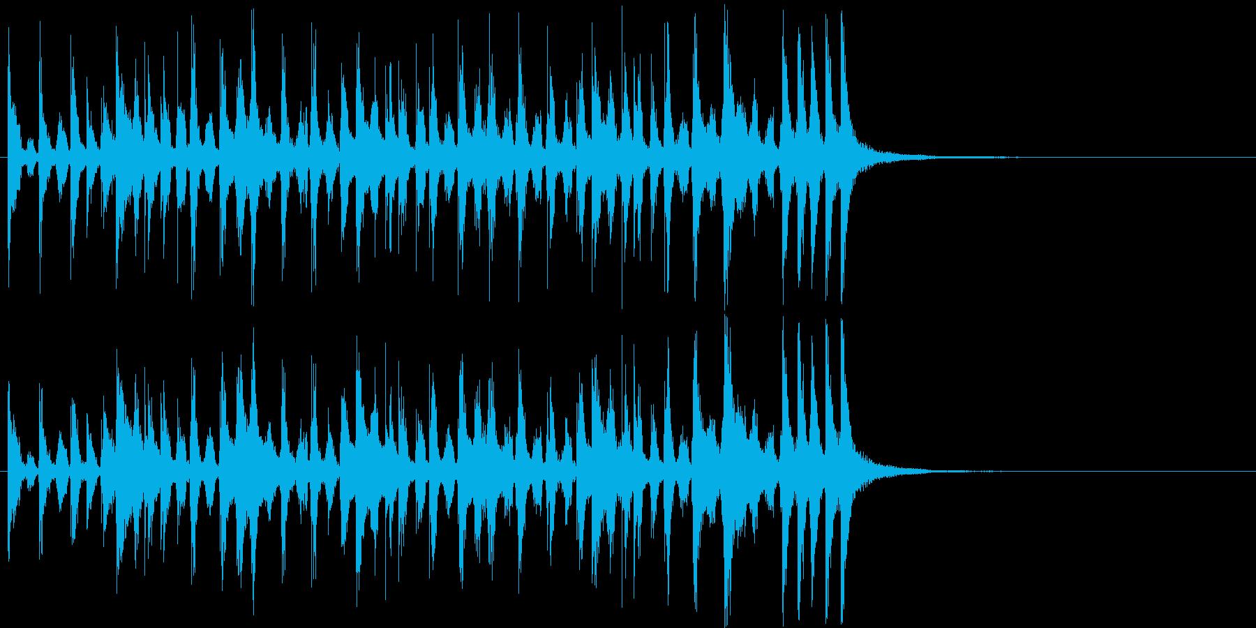 漫画アクセント:ウィッカワッカ:フ...の再生済みの波形