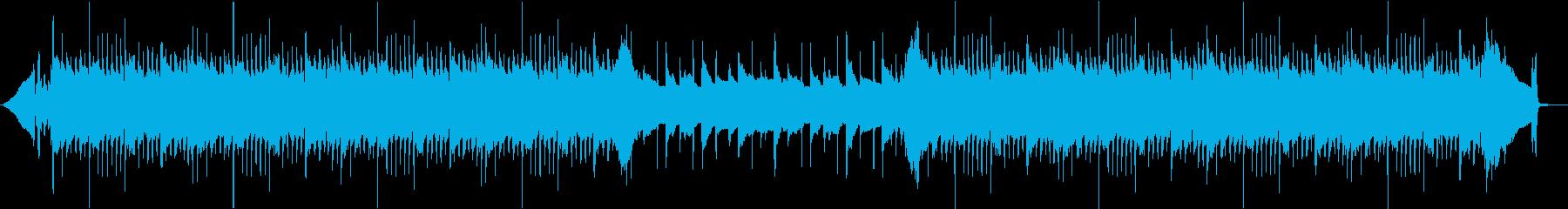 【ピアノとアコギ】疾走感のある爽やかな曲の再生済みの波形