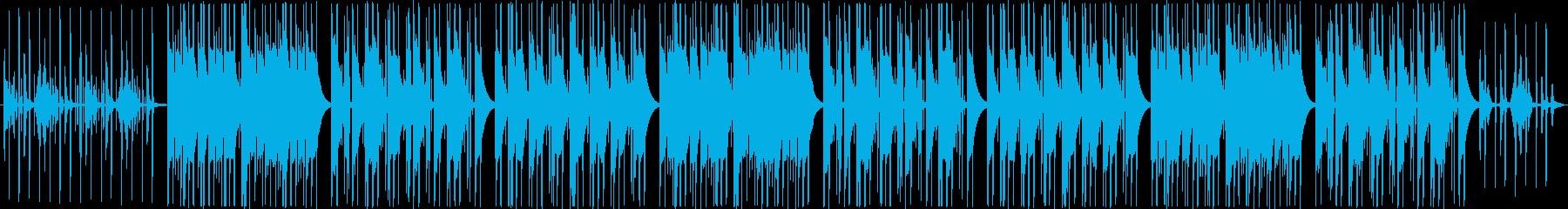 ストリングスの入った可愛いポップスの再生済みの波形