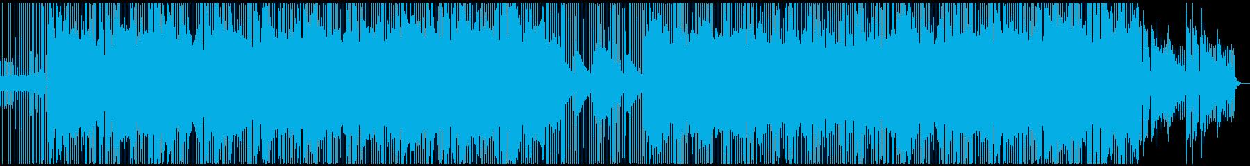 チルな雰囲気のエレクトロの再生済みの波形