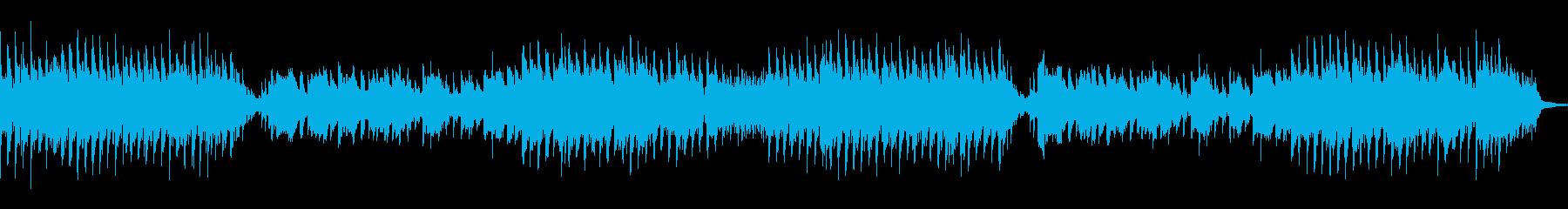 さわやかなインストの再生済みの波形