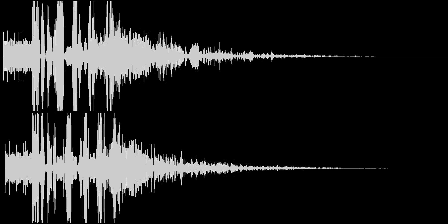 パワージングル シンセ SE2の未再生の波形