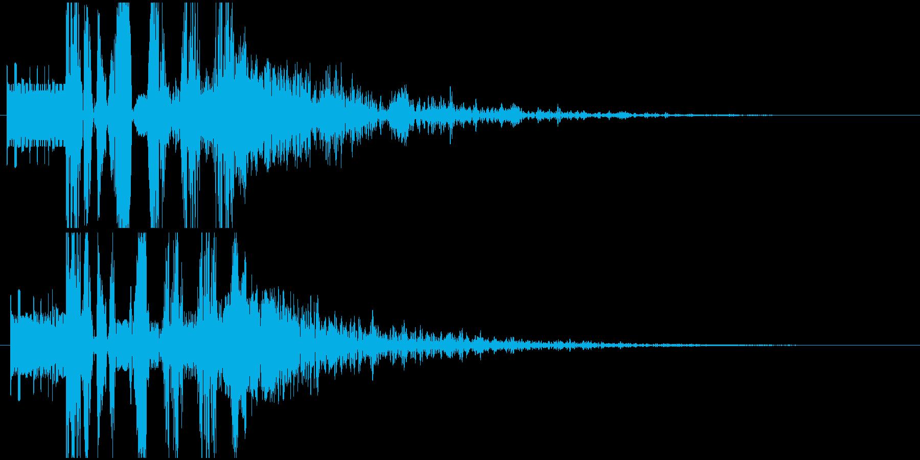 パワージングル シンセ SE2の再生済みの波形