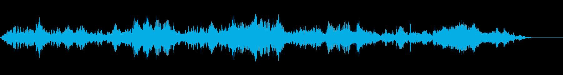 ジャングルバード-サル-ミックスエンの再生済みの波形