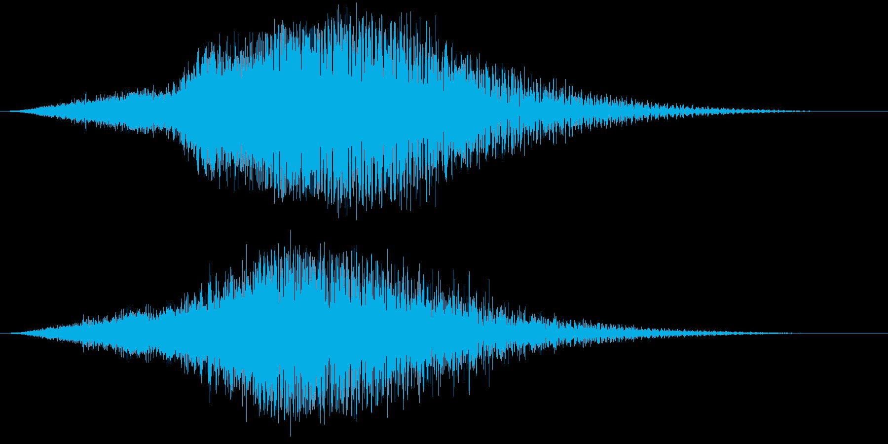 【ホラーゲーム】薄気味悪いシーン_02の再生済みの波形