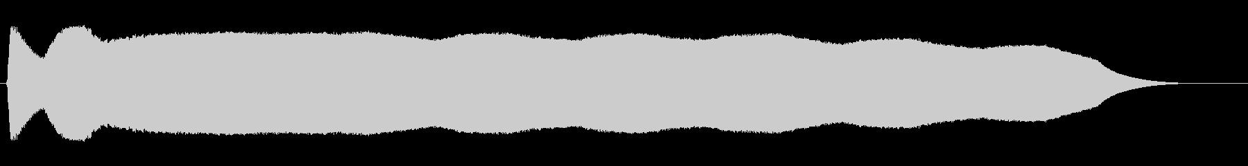 ピヨヨヨヨ(甲高いの電子音による通知)の未再生の波形