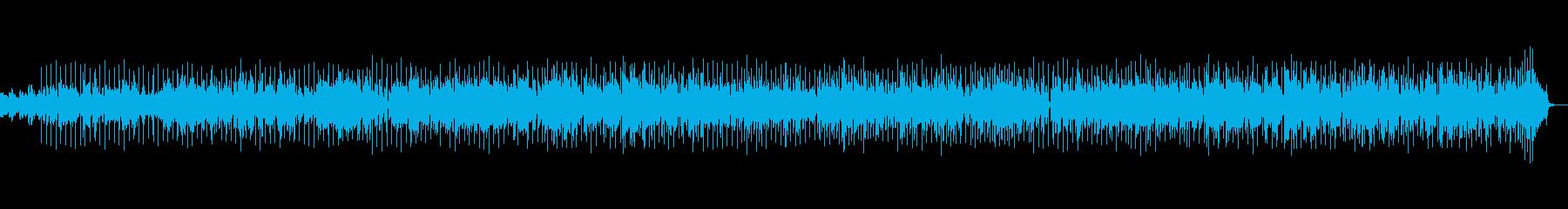 木琴のリズムで明るくほのぼのとした曲の再生済みの波形