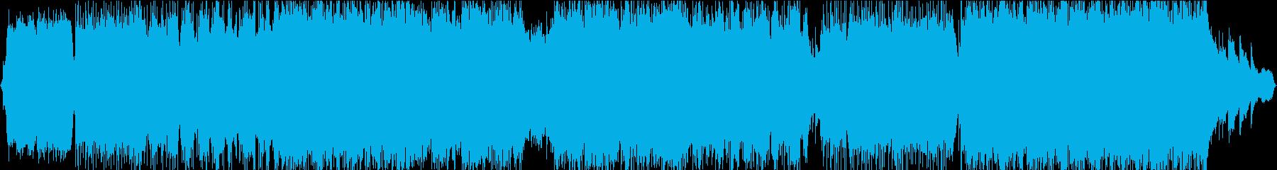 バイオリンメロディー優しいBGMの再生済みの波形