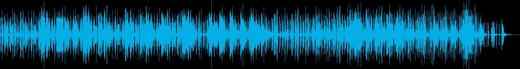 風変わりで泡立つ低音駆動のグルーブ...の再生済みの波形