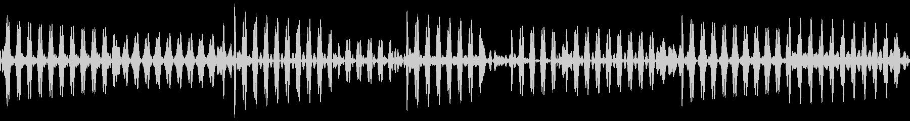 ベース指弾き 4/4 140(ソ)1の未再生の波形