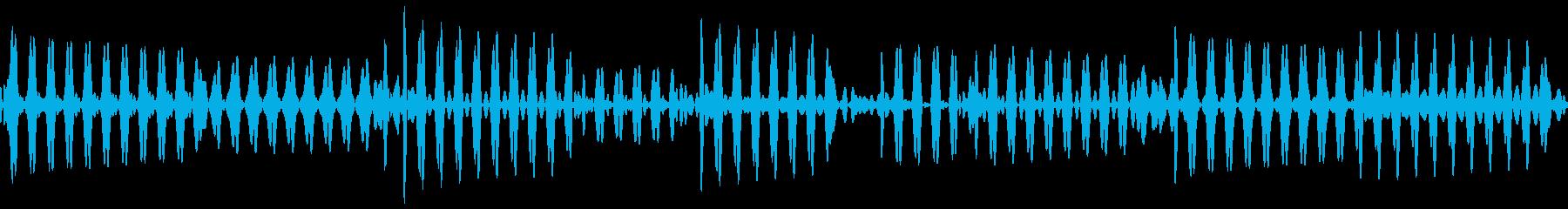 ベース指弾き 4/4 140(ソ)1の再生済みの波形
