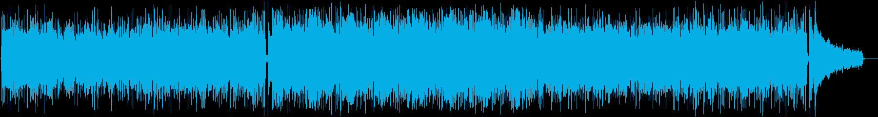 昭和のTVドラマで流れそうなBGMの再生済みの波形