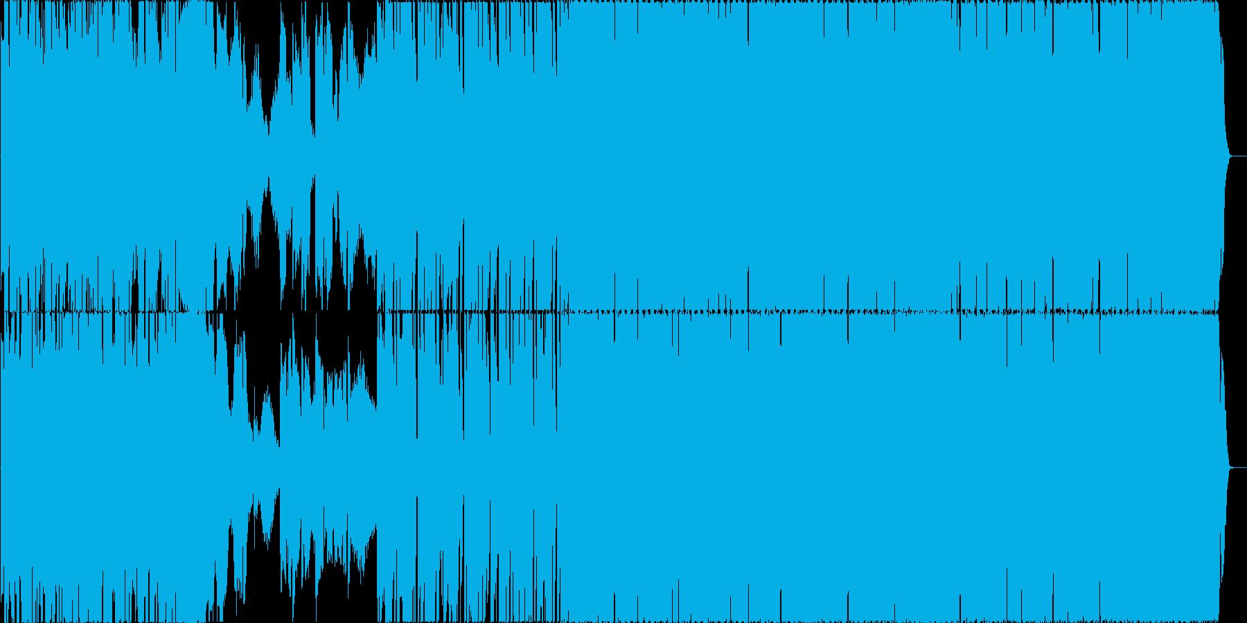 クールな女性エレクトロポップの再生済みの波形
