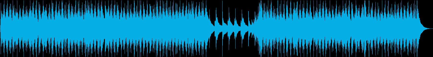 吉田拓郎みたいな昭和のフォークソングの再生済みの波形