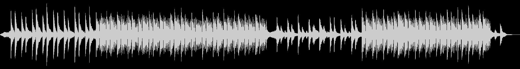 クールで静かなシネマティックピアノの未再生の波形