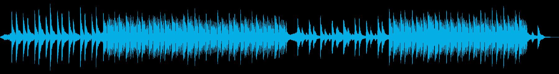 クールで静かなシネマティックピアノの再生済みの波形