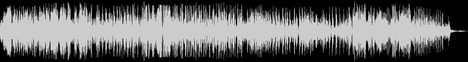ゾンビの声(グオー)の未再生の波形