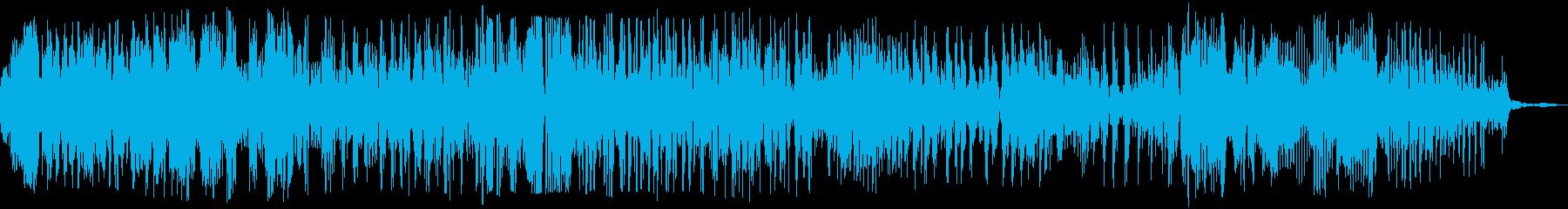 ゾンビの声(グオー)の再生済みの波形