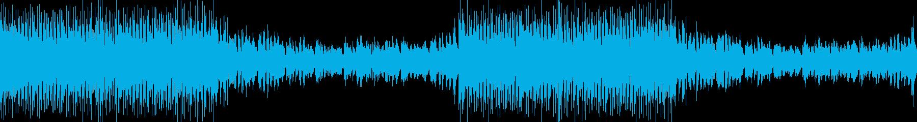 楽しいアミューズメントスポーツEDMの再生済みの波形