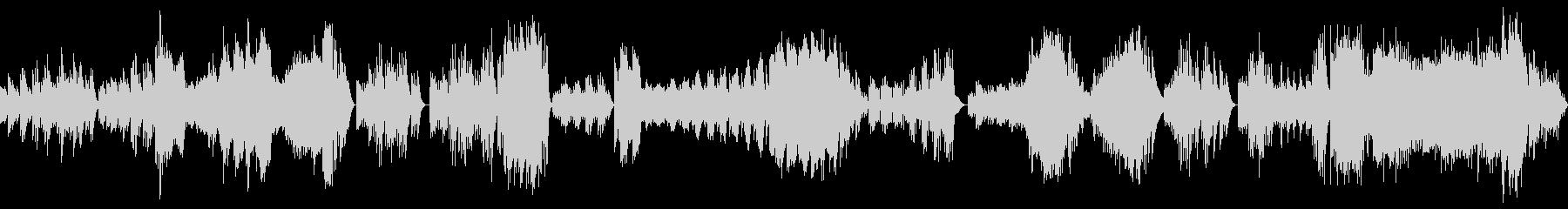 ハイドンピアノソナタ第34番 第一楽章の未再生の波形