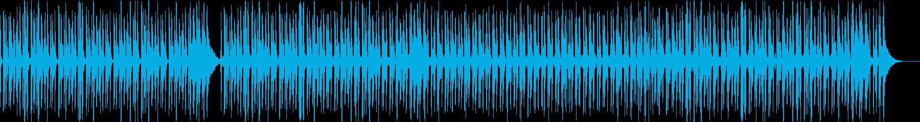 口笛のかわいい映像系の曲(ベースなし)の再生済みの波形