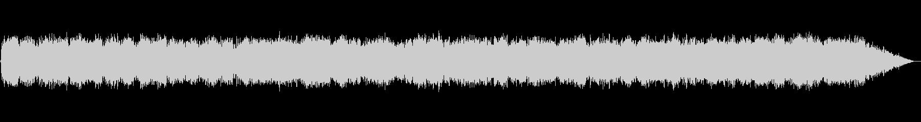キラキラ幻想的なシンセサイザー音楽の未再生の波形