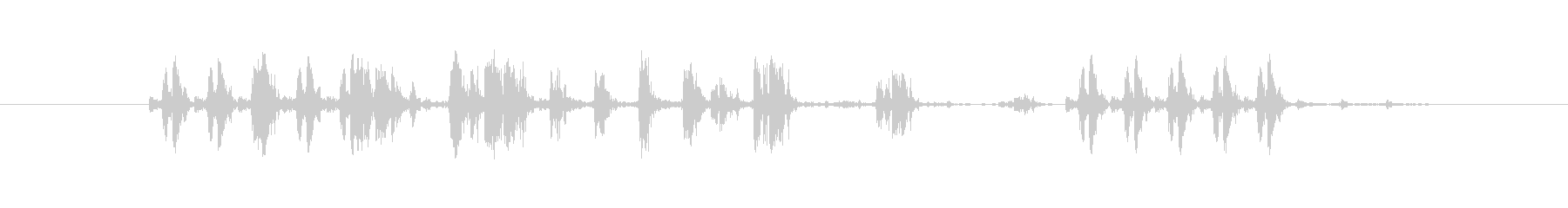 電気機械 小さなスタッター03の未再生の波形