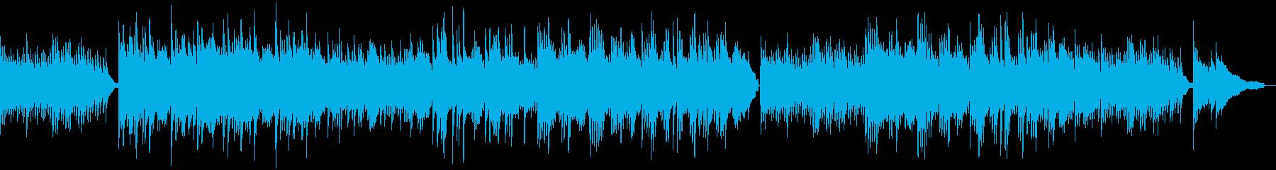 優しい雰囲気のソロピアノの再生済みの波形