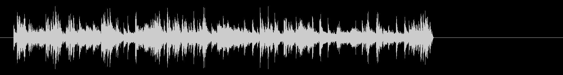 ドラムソロの未再生の波形