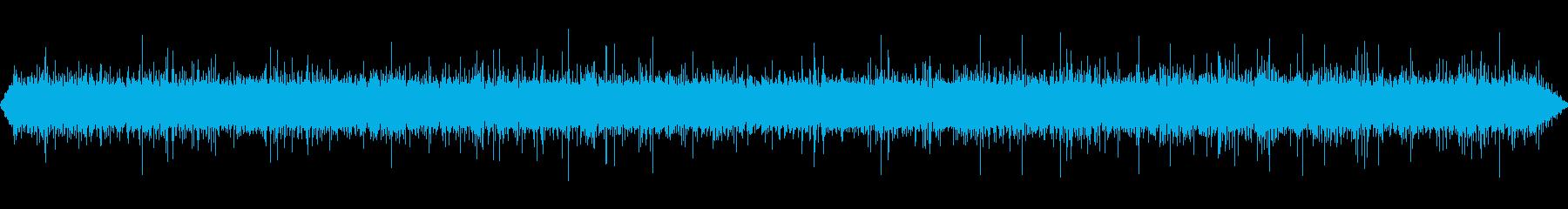 小さな滝の再生済みの波形