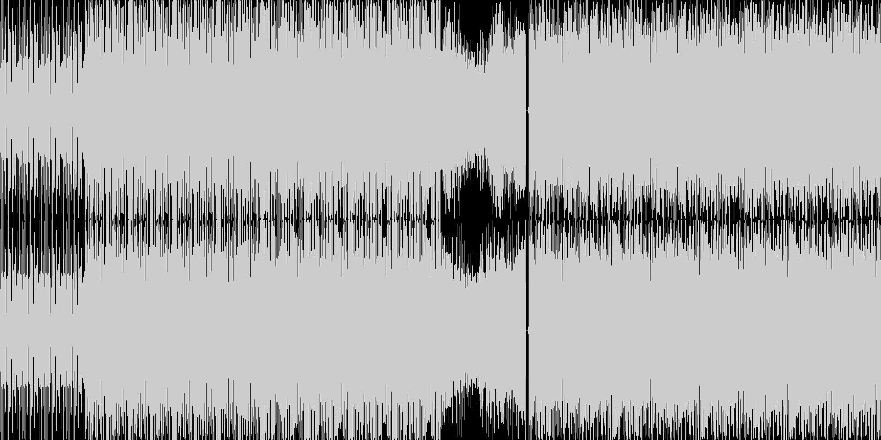 【トランス系ダンスミュージック】の未再生の波形