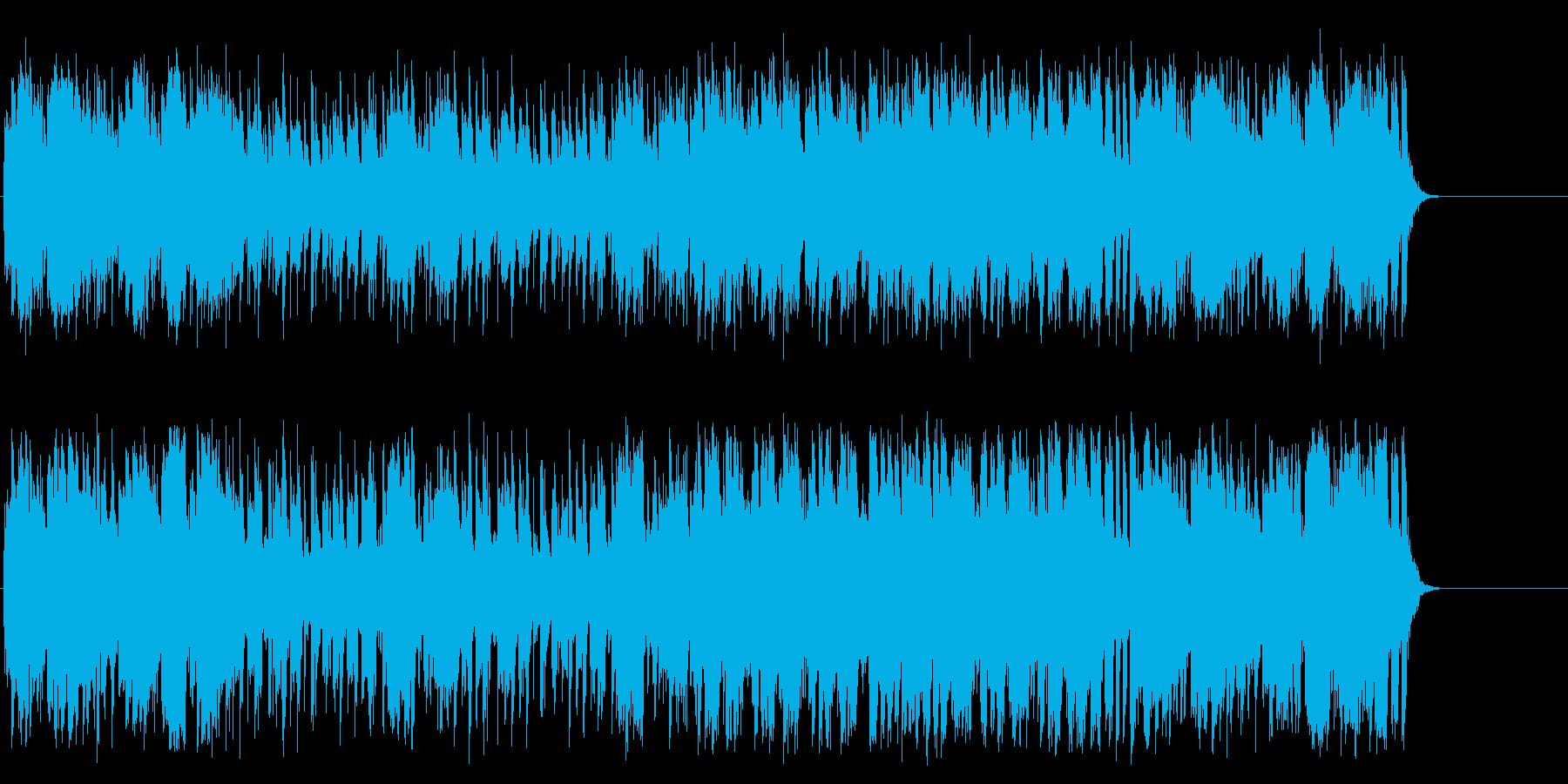明るく爽やかなポップス(イントロ~A…)の再生済みの波形
