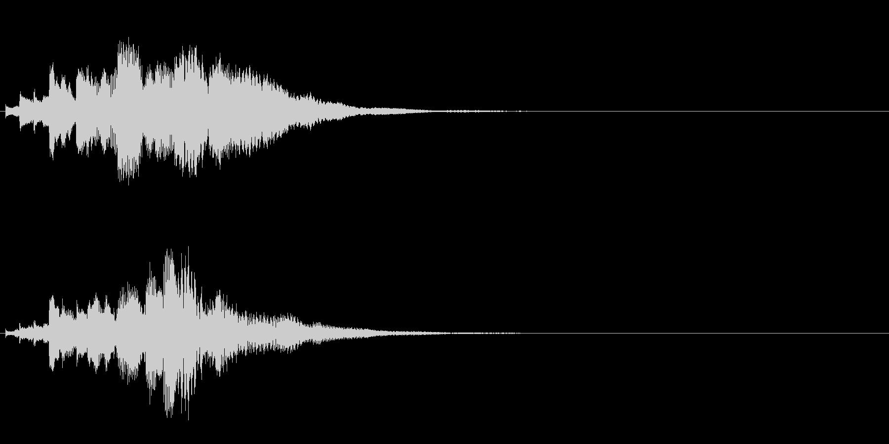 ハープ・下降_6-2の未再生の波形