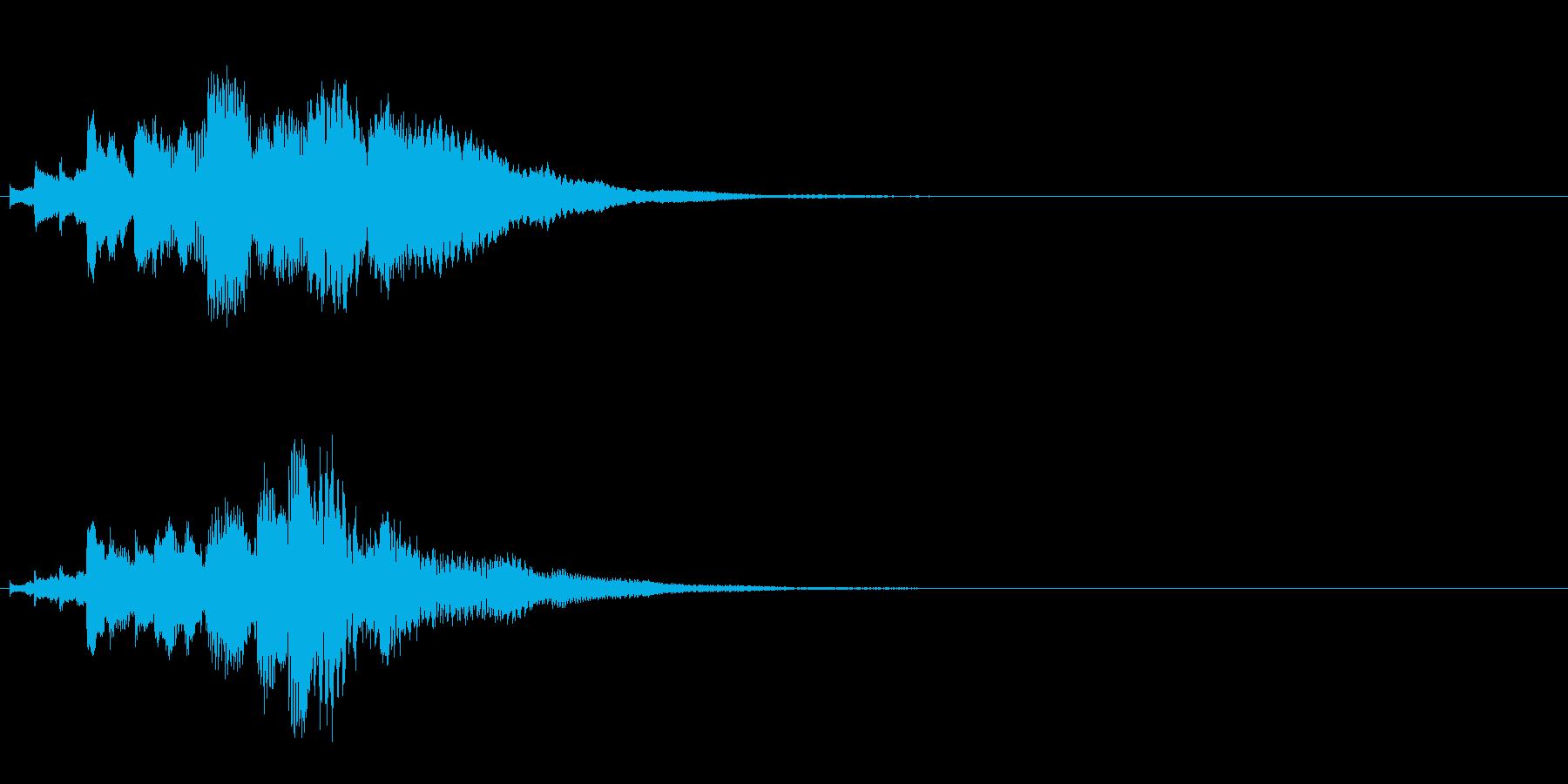 ハープ・下降_6-2の再生済みの波形