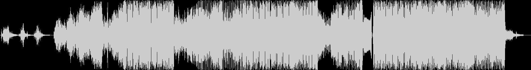 CHUの未再生の波形