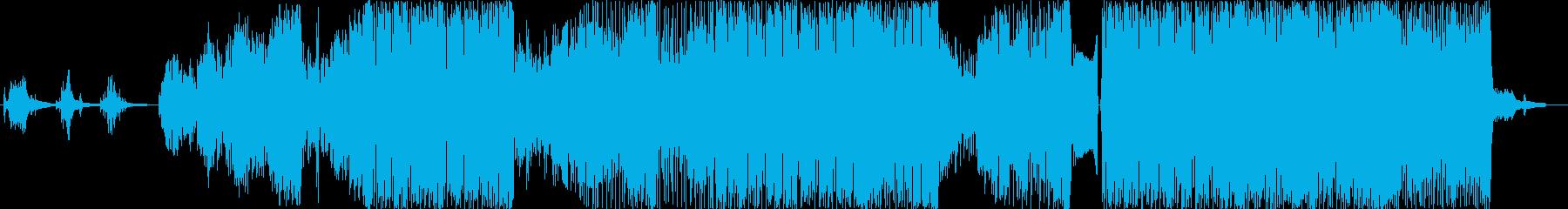CHUの再生済みの波形