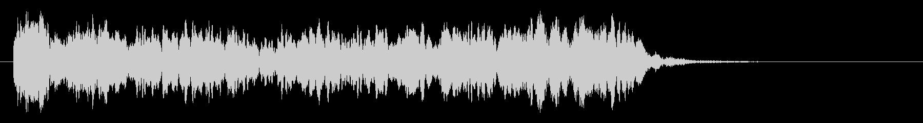 上昇効果音(ヒューン↑ヒラヒラ)の未再生の波形