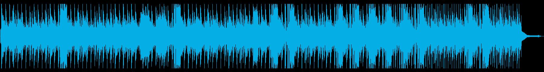 一風変わったヘンテコダブステップの再生済みの波形