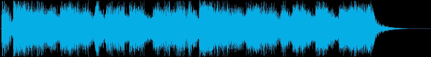 王国をイメージしたオーケストラの再生済みの波形