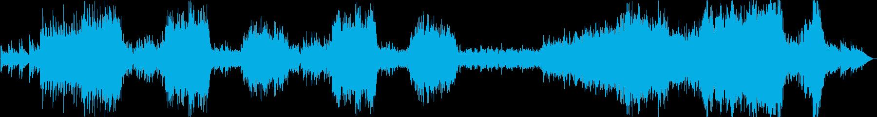 壮大なピアノ協奏曲風オーケストラの再生済みの波形