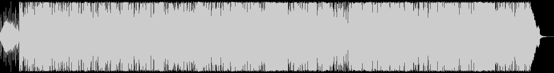明るい雰囲気のエレクトロポップの未再生の波形