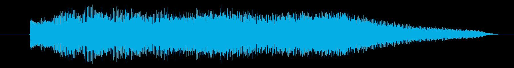 ホラー、怖い、不協和音の弦、おもち...の再生済みの波形
