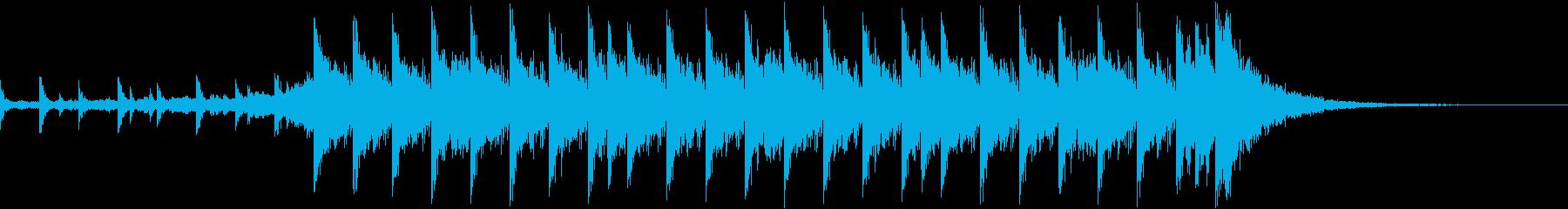 和EDM-YouTube終了画面用に-の再生済みの波形