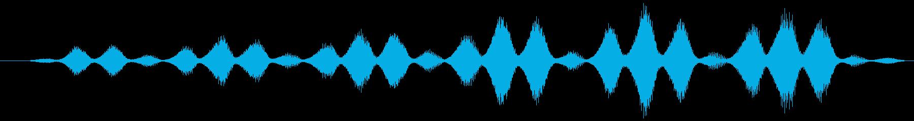 SPACE RETINAL SCA...の再生済みの波形