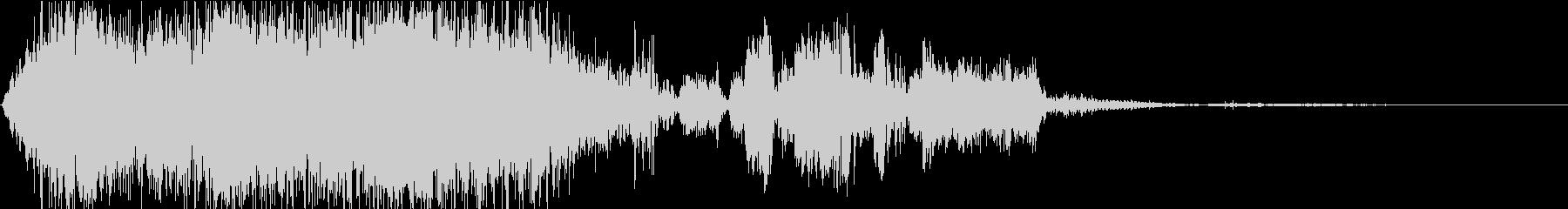 放電・スパーク・パルス04の未再生の波形